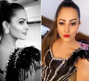 Anita Hassanandani's Sensuous Look in Sexy Black Dress is Something to Die For, See Pictures