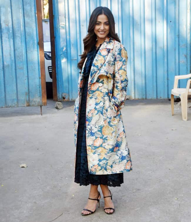 Hina Khan Flaunts Her Style Statement