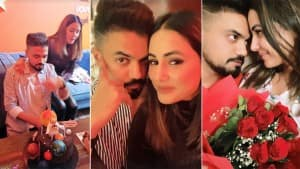Hina Khan Celebrates BF Rocky Jaiswal's Birthday, Their PDA Pictures Will Make You Say 'Love is in The Air'