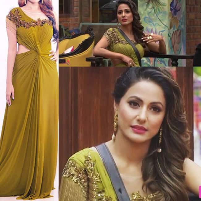 Hina Khan in Prerna Nagpal outfit in Bigg Boss season 11