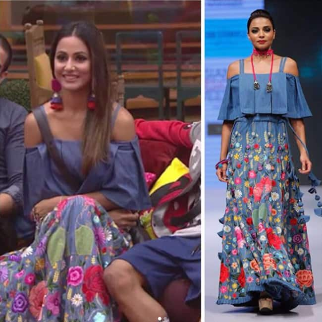Hina Khan in The For Example outfit