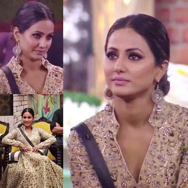 Hina Khan in Vijay Rana outfit for Bigg Boss season 11