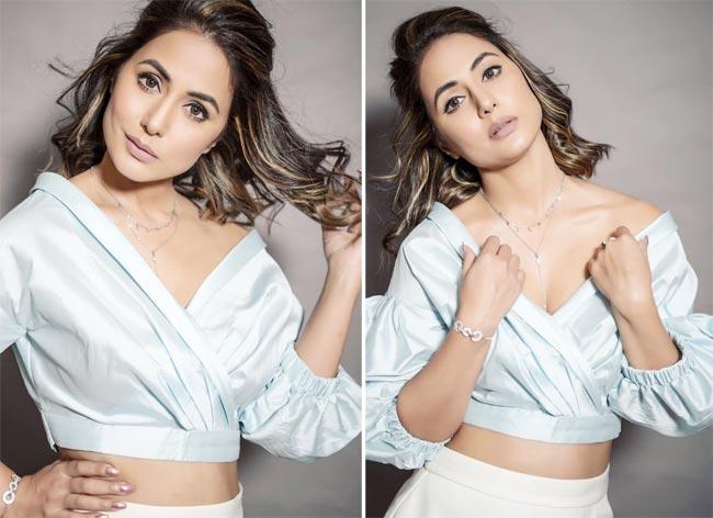 Hina Khan latest photoshoot in bigg boss 14