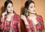 Bigg Boss 14: Hina Khan Looks Breatakingly Gorgeous in Three-Cord Dress Ans We Are Smitten By Her Look