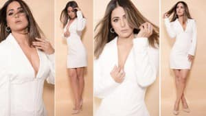 Hina Khan is Both Fire And Ice in This Super-Sizzling White Dress - See Pics