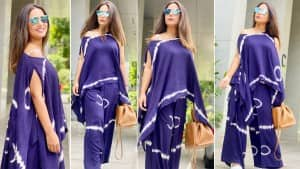 Hina Khan is Acing the Tie-Dye Co-Ord Trend Like A Pro  See Pics