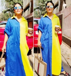 Hina Khan is Here to Brighten up Our Social Media Timelines with Vibrant Outfits | View PICS