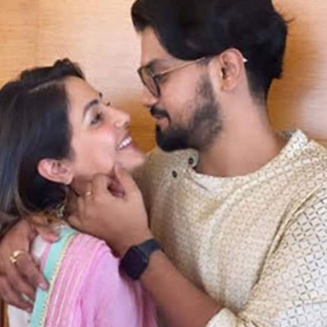 Hina Khan Rocky Jaiswal   s Pictures Are Too Hot to Handle