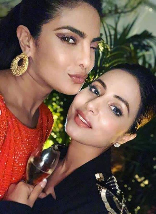 Hina Khan Shares Heartfelt Post For Priyanka Chopra