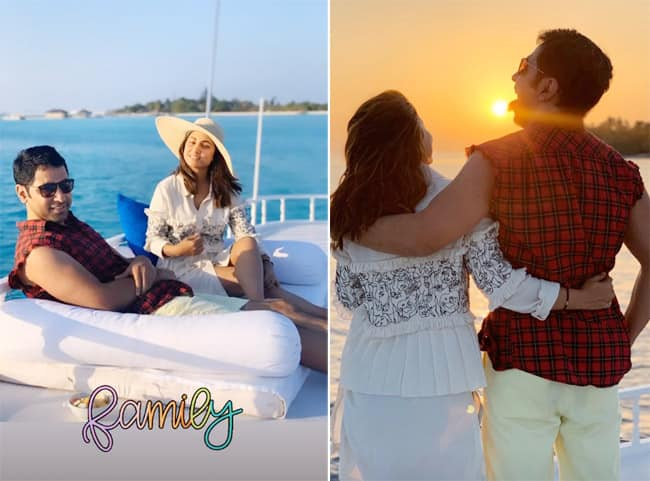 Hina Khan Shares Throwback Pictures From Maldives Vacation