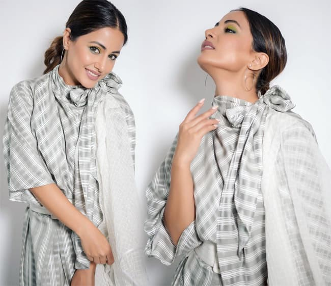 Hina Khan Stuns in Latest Instagram Pictures