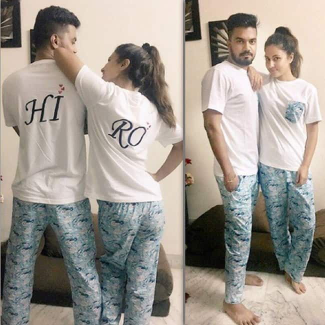 Hina Khan With Her Boyfriend Rocky Jaiswal Most Romantic Pics Of