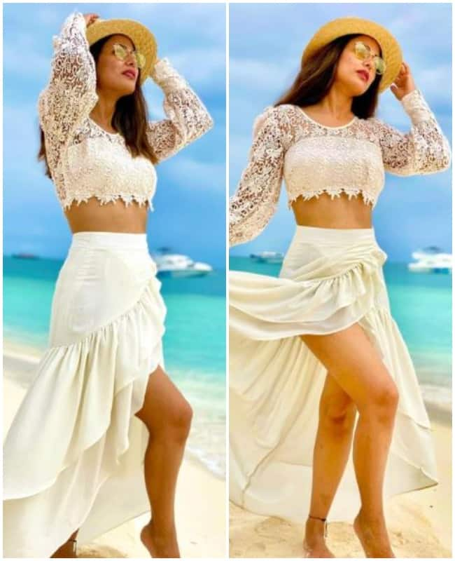 Hina Khan s Dreamy Pictures From Her Maldives Vacation