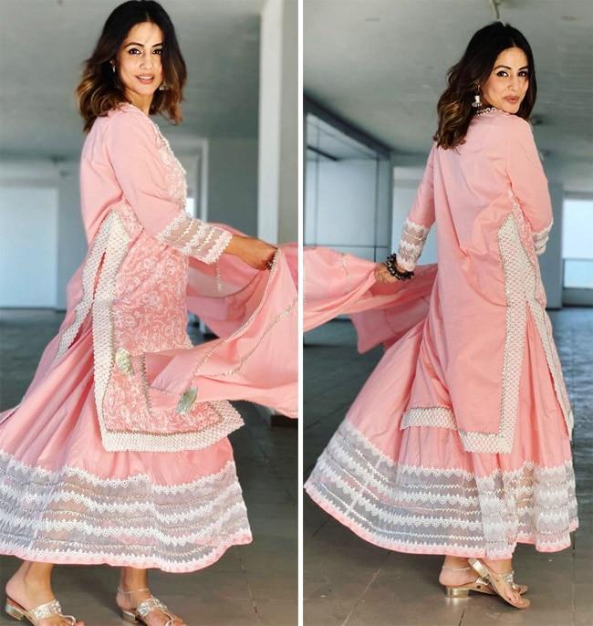 Hina Khan s Eid look