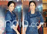 Hina Khan's Denim-on-Denim Look is a Perfect Guide to Your Not-so-Official Work Look