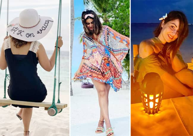 Hina Khan s latest set of pictures from Maldives can make you feel jealous