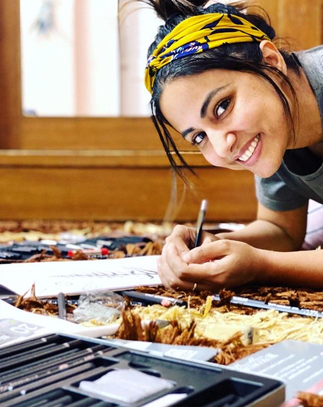 Hina Khan s Lovely Smile