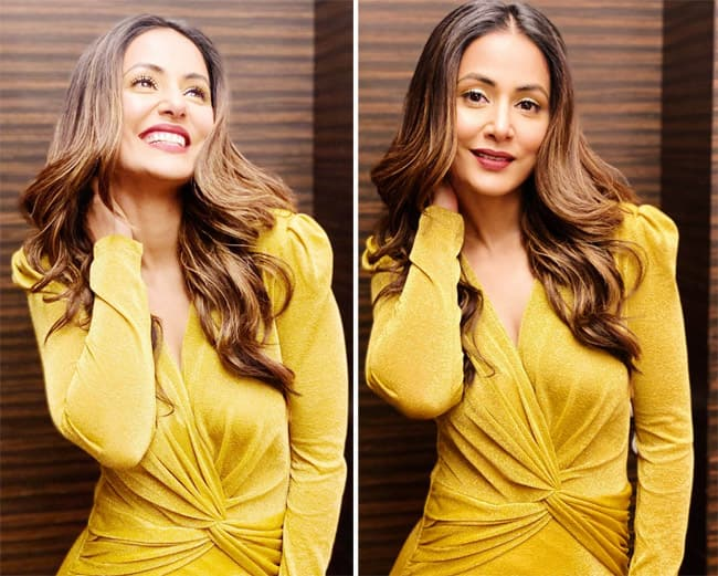 Hina Khan   s new look for 2020 is unmissable