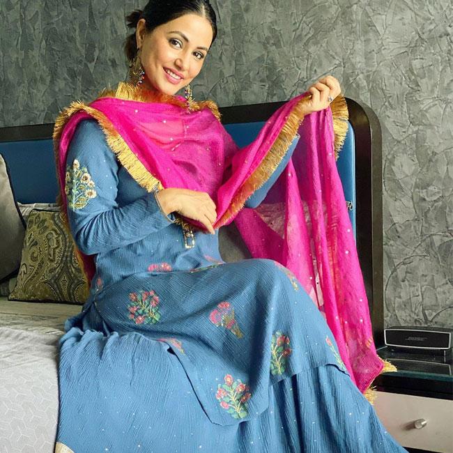 Hina Khan's Traditional Look Goes Viral