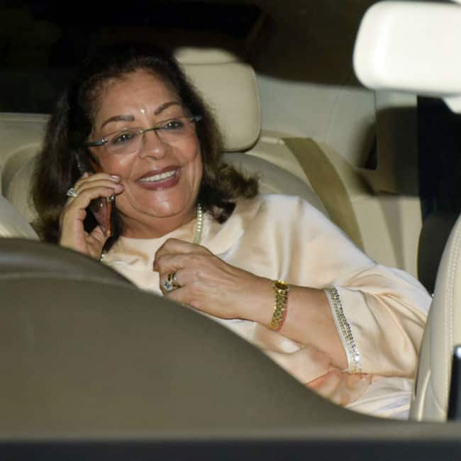 Hiroo Johar at Jaya Bachchan   s birthday bash
