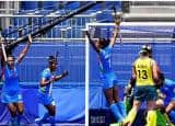 In Pics  Women's Hockey Tokyo 2020: Historic Win For India, Pull off Major Upset vs Australia to Enter Maiden Semi-finals