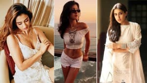 Holi Fashion: From Disha Patani to Sara Ali Khan, Celebs-Inspired Ideas to Wear White This Holi