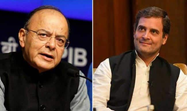 How Many Lies to Save Sinking Dynasty    Jaitley Slams Congress After Rahul s  Middleman  Charge on PM