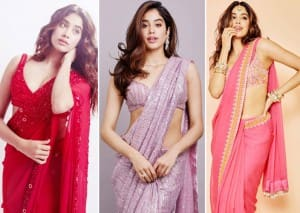 Janhvi Kapoor's Hot Saree Looks - 6 Times Dhadak Star Wore Saree And Looked Extremely Sexy
