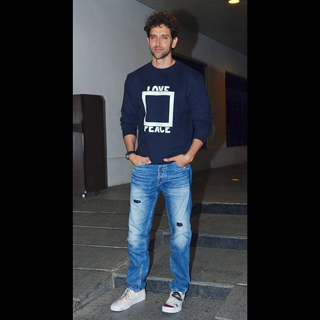 Hrithik Roshan celebrated his 43rd birthday with family and friends