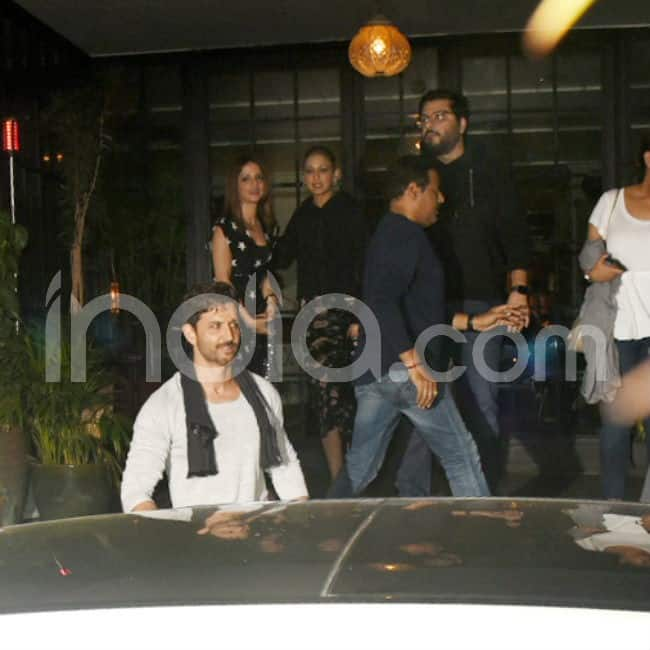 Hrithik Roshan Clicked with friends on birthday