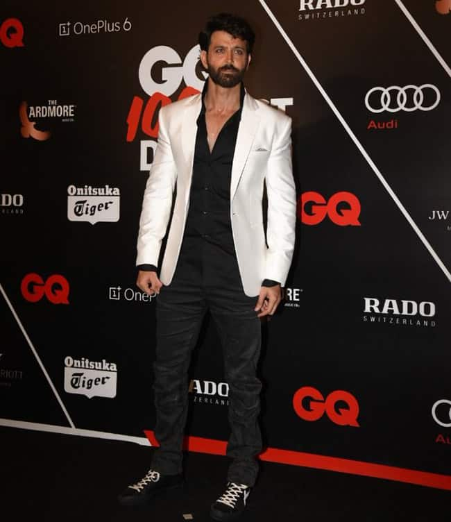 Hrithik Roshan looked dapper at the GQ event