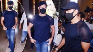 Hrithik Roshan Records His Statement Against Kangana Ranaut in The 2016 Email Case - Viral Pics