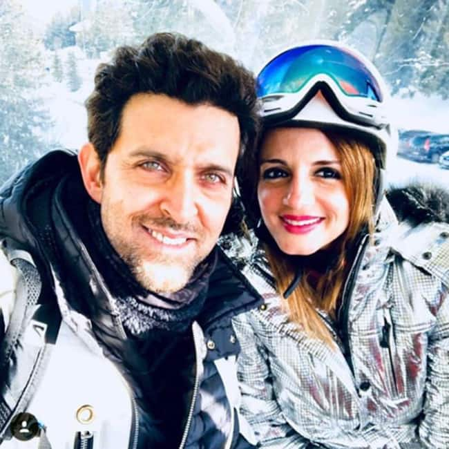 Hrithik Roshan   s selfie with ex wife Sussanne Khan