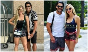 Brazil Football Star Hulk Marries Ex-Wife's Hot Niece Camila Angelo to Get Chinese Visa   SEE PHOTOS