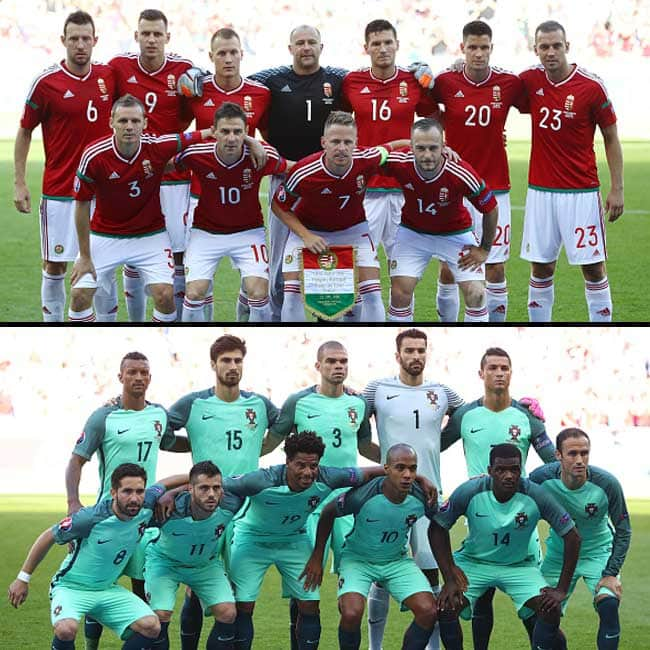 Hungary vs Portugal ended in a draw in UEFA EURO 2016 Group F match