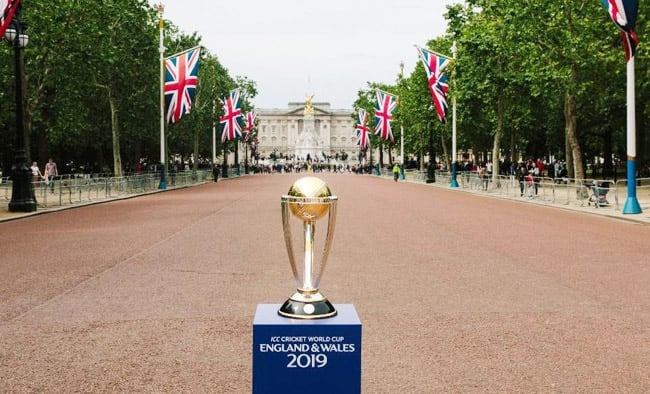 ICC World Cup Opening Party at the iconic London Mall