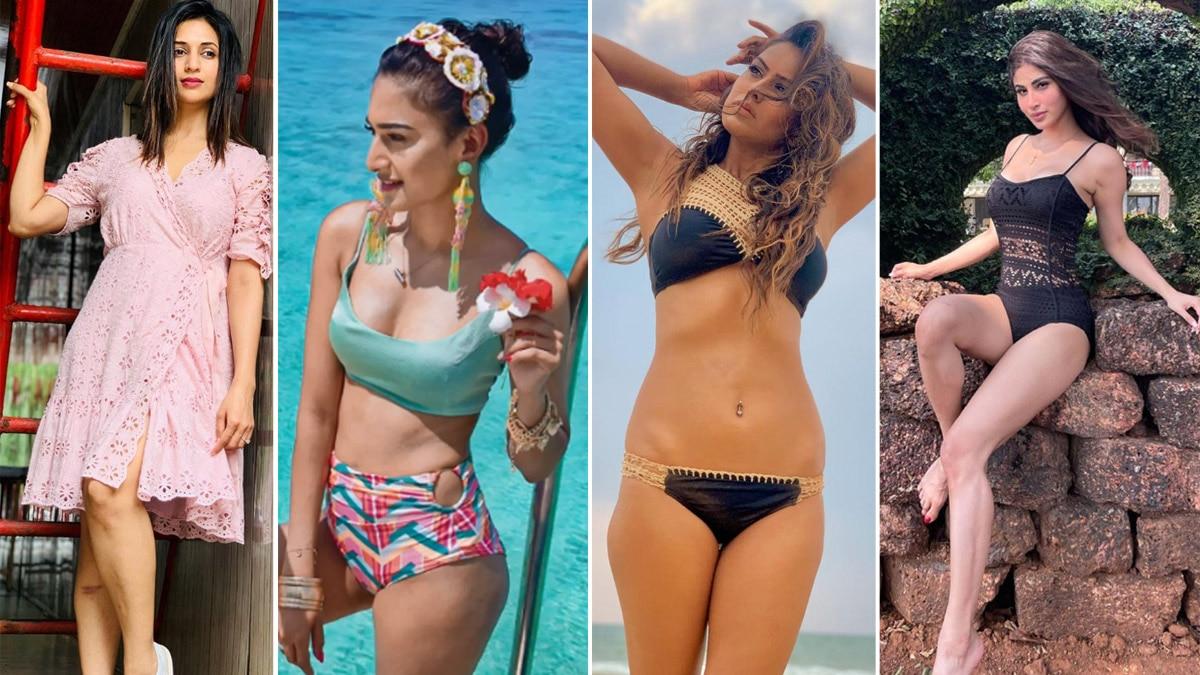 Ideal Bahus To Hot Babes  Nia Sharma  Rubina Dilaik  Avika Gor And Others Flaunt Their Real Bold Avatars