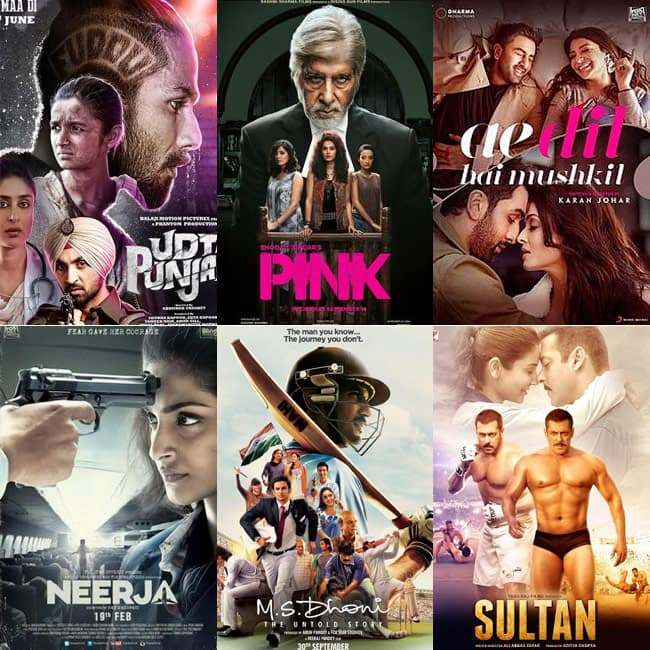 IIFA 2017 Nominations in best movie category