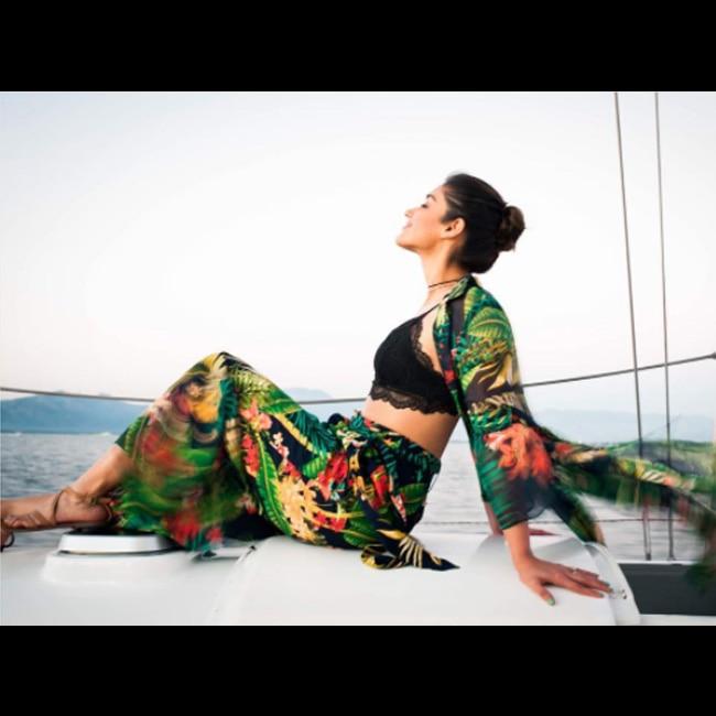 Ileana D   cruz enjoying her vacation in Fiji