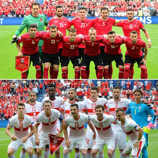 In Group A Switzerland beats Albania by 1 0 in UEFA Euro 2016 Group A match
