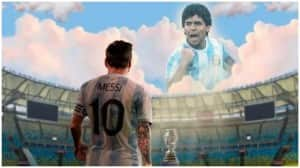 In Pictures | Celebrating Diego Maradona As Lionel Messi Lifts Copa Weight Off Shoulders