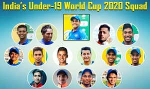 Under 19 World Cup 2020: All You Need to Know About India Under-19 Squad Members, Captain, Vice Captain