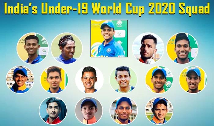 India Under 19 Squad Members