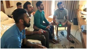 IN PICS | Indian Cricketers Extremely Fond of Playstation