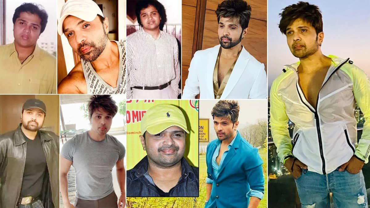 Indian Idol 12  Himesh Reshammiya   s transformation Over The Years Is Unmissable