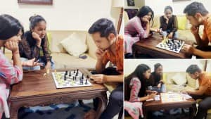 Indian idol 12: Pawandeep Rajan-Arunita Kanjilal Play Games As They Spend Quality Time With Each Other