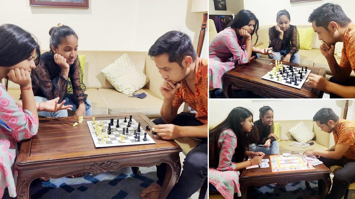 Indian idol 12  Pawandeep Rajan And Arunita Kanjilal Spend Quality Time Together