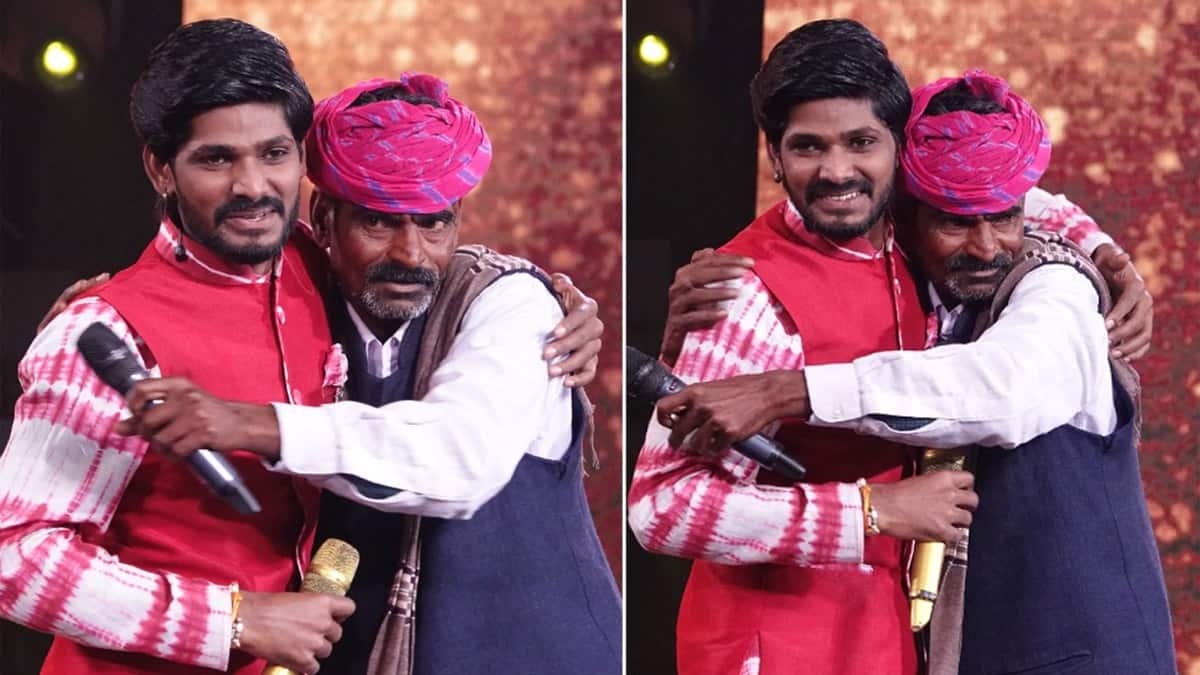 Indian Idol 12  Sawai Bhatt makes his father emotional on stage