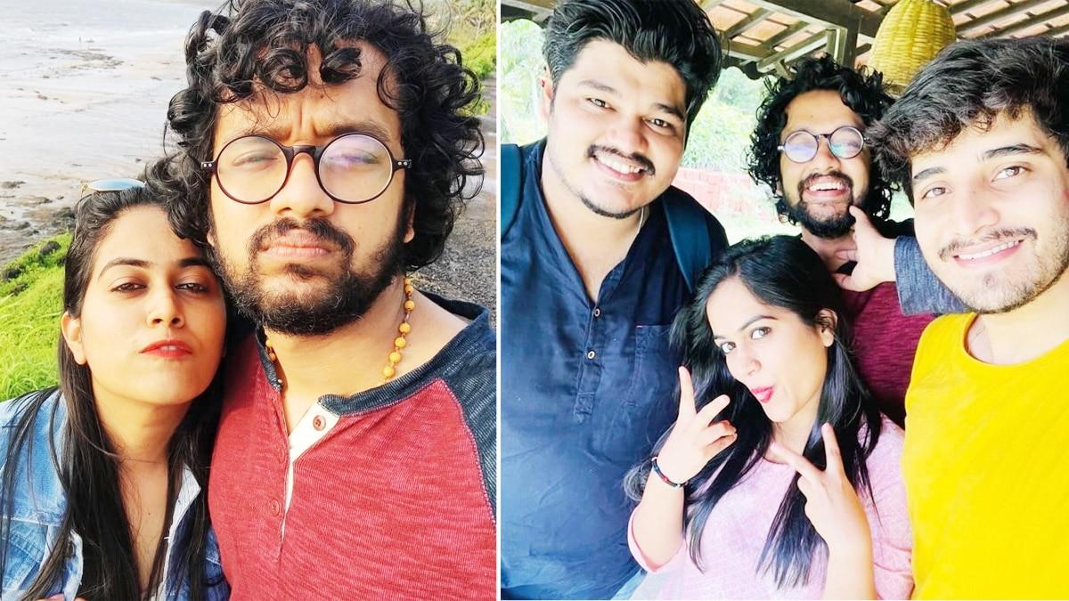 Indian Idol 12 Singers Enjoy In Alibaug