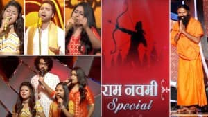Indian Idol 12 Ram Navami Special Episode: Photos of Swami Ramdev And Contestants Gracing The Show Go Viral
